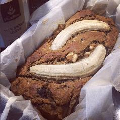 chlebek bananowy z maka kokosowa