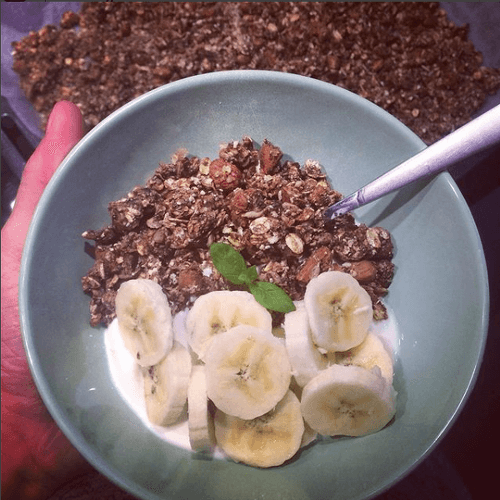 domowa granola slodzona daktylami
