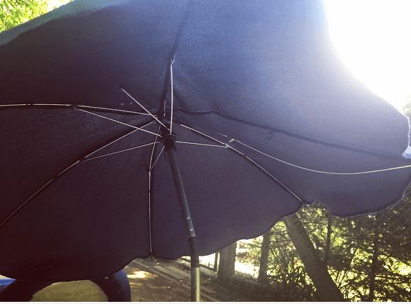 uniwersalna parasolka polamane druty