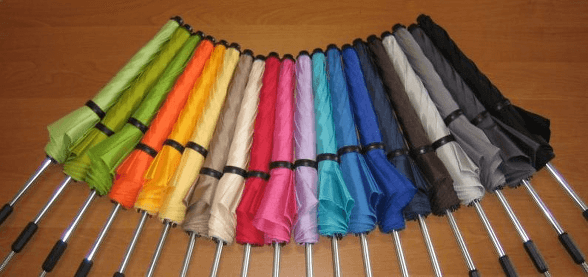 uniwersalna parasolka kolory