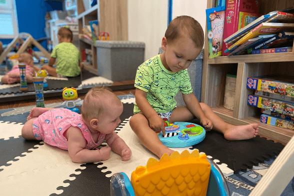 organizacja domu z dwojka dzieci