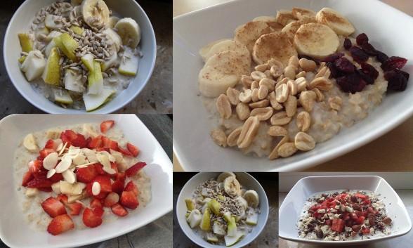 inspiracje śniadaniowe-owsianka