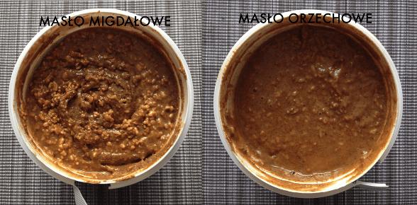 maslo migdalowe i orzechowe MyProtein
