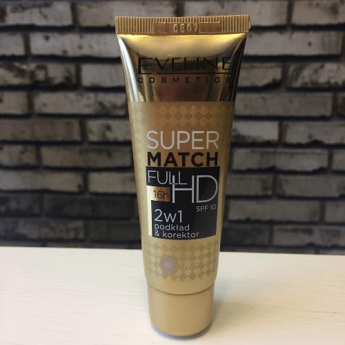 eveline super match HD korektor i podklad 2w1